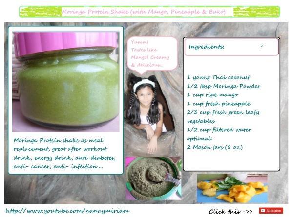 Moringa Protein Shake