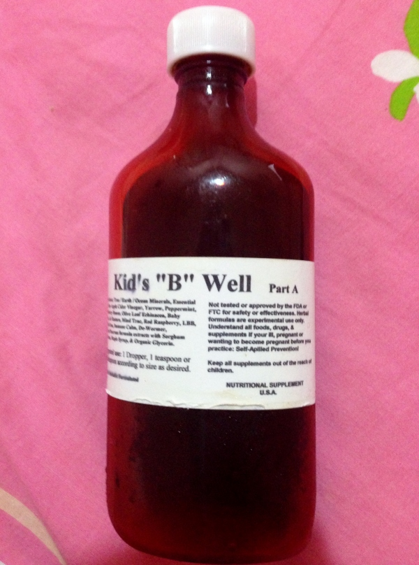 Kids B Well - 16 oz bottle (good for 6 months for maintenance)