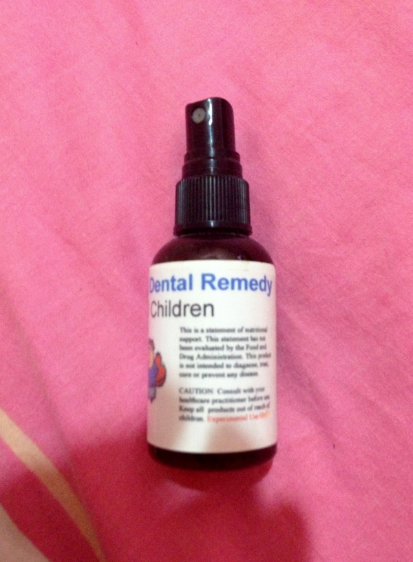 Dental Spray (2oz) good for 6 months for maintenance