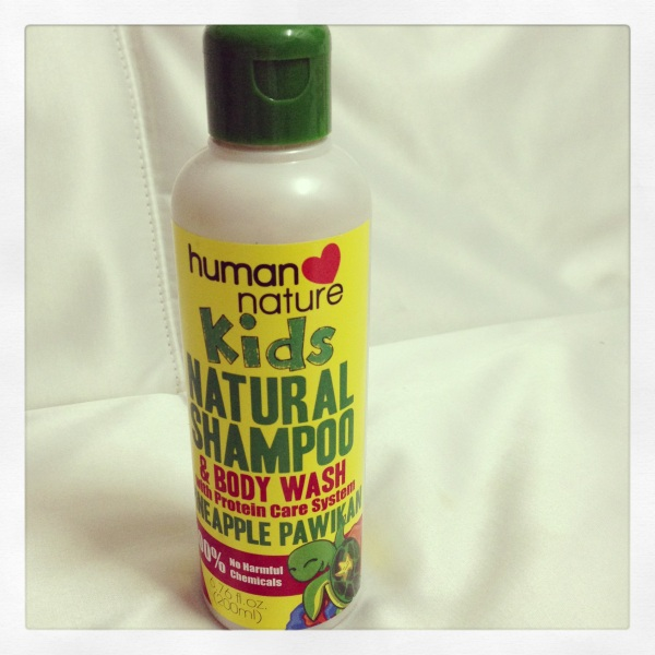 Kids All Natural Shampoo & Body Wash for Giveaway