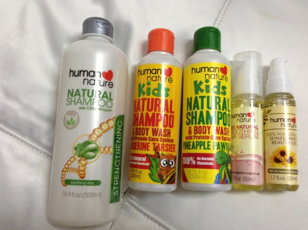 Human Nature Hair Products